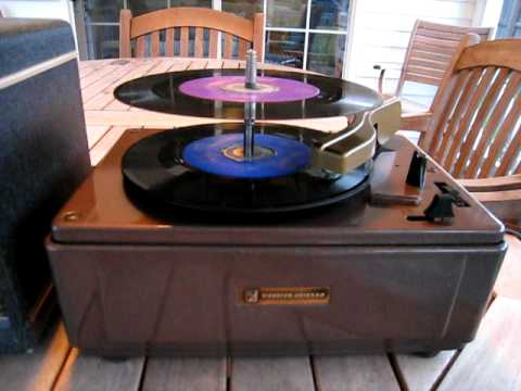 Rare Webster Chicago Model 755 1 33 45 Rpm Record Player