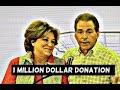 Alabama Football Coach Nick Saban and wife Terry donate 1M to Crimson Standard