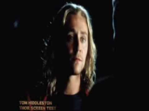 Tom Hiddleston Screen Test as Thor actores que audicionaron para otro papel