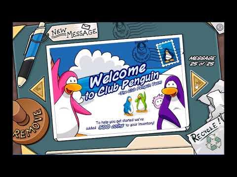 My Entire Club Penguin Rewritten Account
