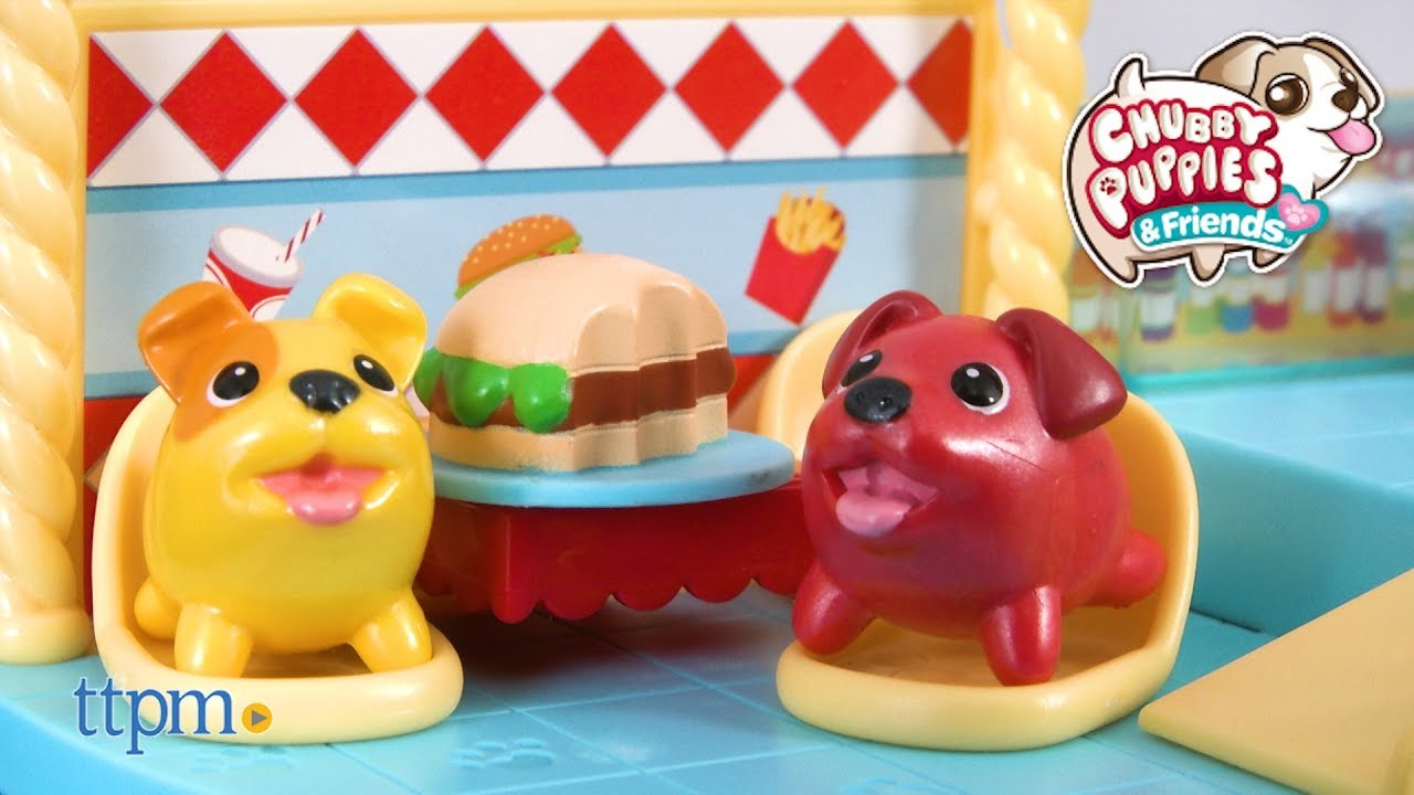 Chubby Puppies And Friends Burger Shack From Spin Master Youtube