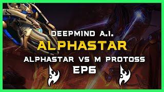 AlphaStar vs Master Protoss Ep6 [PvP] Deepmind A.I. Starcraft 2