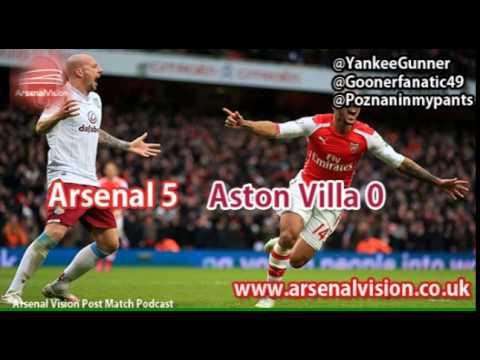 Arsenal Vision Post Match Podcast - EP14: Arsenal 5 Aston Villa 0