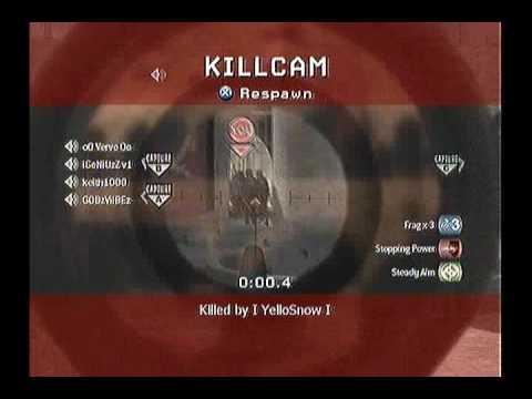 I YelloSnow I - 5 Kill Collateral Damage