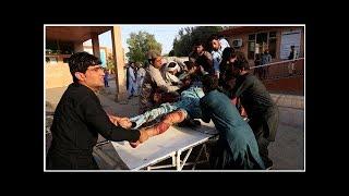 Afghanistan: attentat-suicide meurtrier pendant le cessez-le-feu