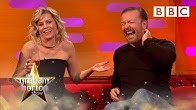 Ricky Gervais CAN'T REMEMBER Elizabeth Banks at the Golden Globes | The Graham Norton Show - BBC