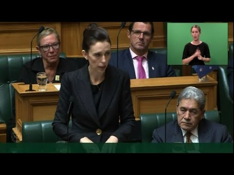 NZ prime minister refuses to utter Christchurch attacker's name Mp3