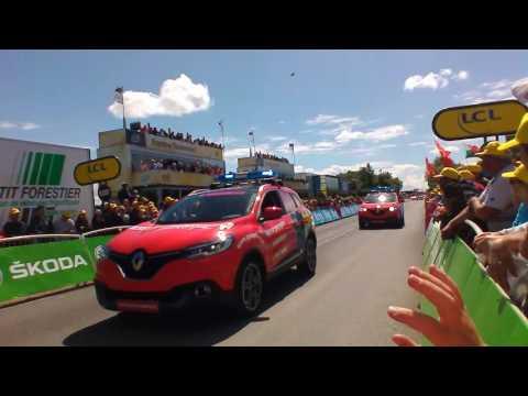 la caravane publicitaire du Tour de France 2016