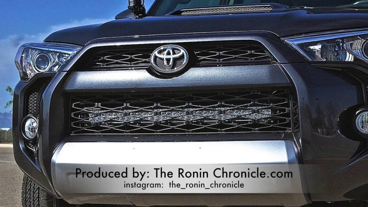 2014-2019 5th Gen Toyota 4Runner Hidden Bumper Brackets- Stainless Steel -
