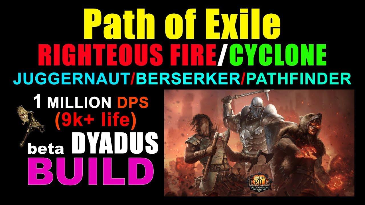 DYADUS RIGHTEOUS FIRE/CYCLONE Juggernaut/Berserker