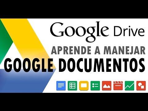 Google Docs español - Como utilizar Google Documentos
