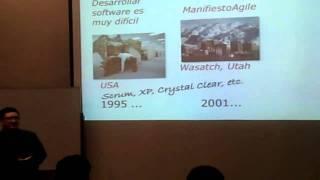 Kanban en la UPC por Masa K Maeda - 1/8 Orígenes de Lean, Agil