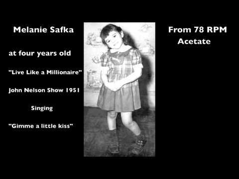 Melanie Safka at four years old