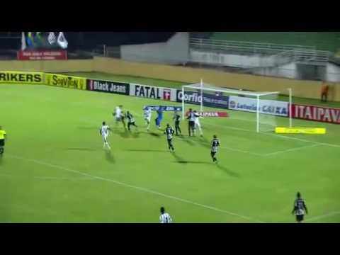 Gols:Bragantino 2x1 Tupi-MG 28/05/16(brasileirao serie b)