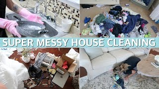 ALL DAY CLEAN WITH ME 2019 - WHOLE HOUSE CLEANING MOTIVATION | Lauren Midgley