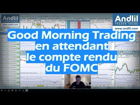 Good Morning Trading En attendant le FOMC