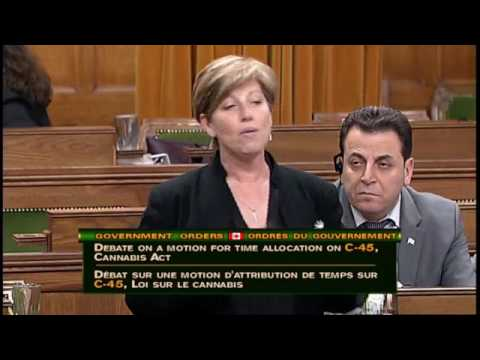 Canadian House of Commons debates Bill C45 - June 6th, 2017 - Sitting 188