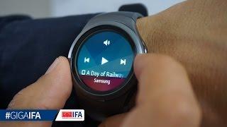 Samsung Gear S2 - Smartwatch im Hands-On - GIGA.DE