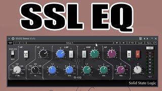 Waves SSL Bundle Tutorial - Part 2/3 - Waves SSL EQ