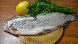 Рыба запеченая в соли, самый простой рецепт рыбы. Просто Рецепт.