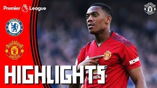 Highlights | Chelsea 2-2 Manchester United | Premier League | Martial Double for the Reds