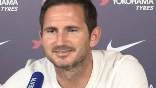 Frank Lampard pre-match press conference Norwich city vs Chelsea.