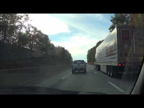 Driving on Interstate 78 W (Salisbury Township, PA to West Hamburg, PA)