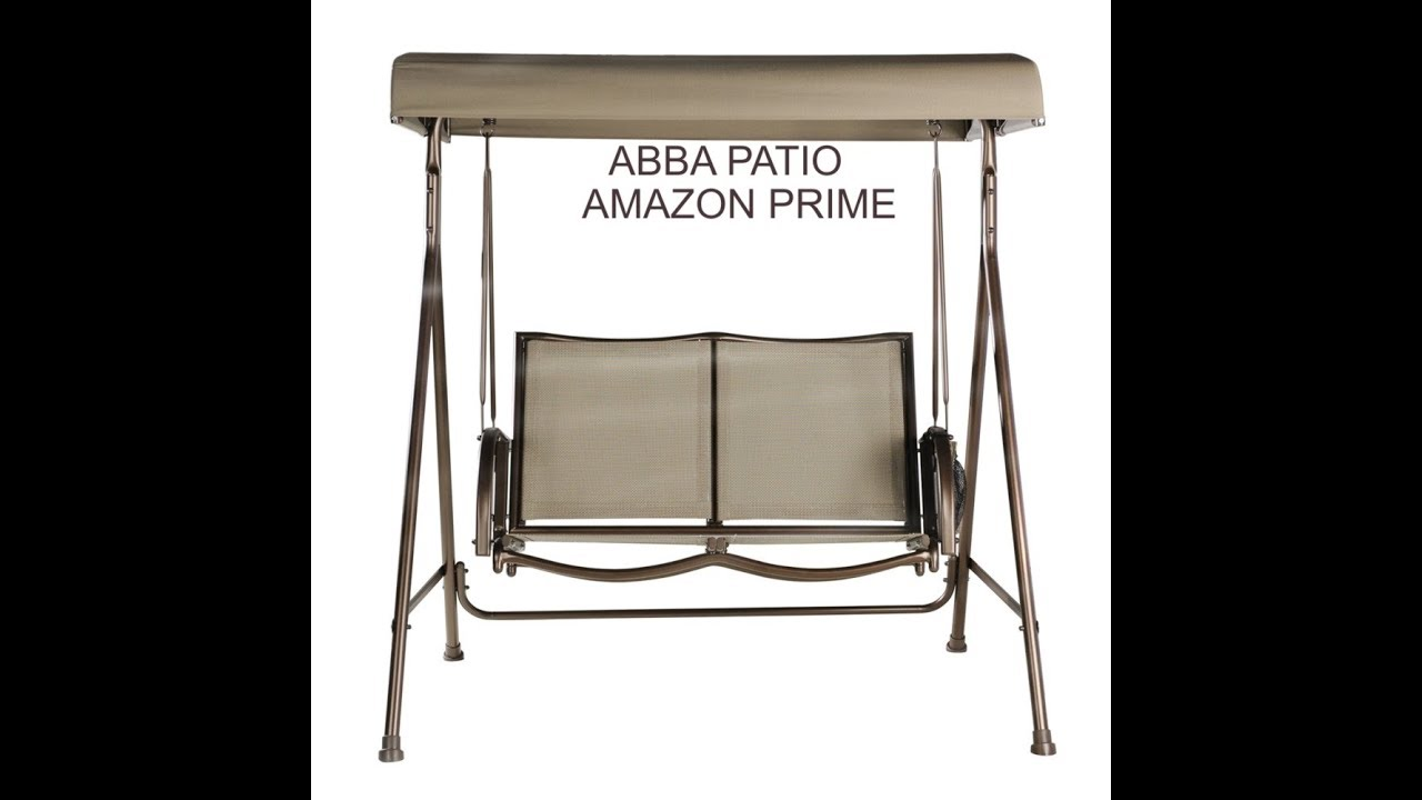 Episode 2040 Amazon Prime Unboxing Abba Patio Outdoor Swing Canopy