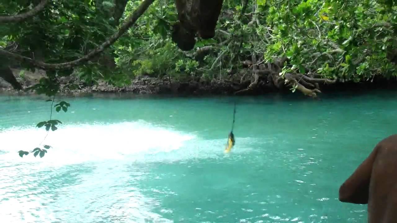 Blue Lagoon In Port Vila Vanuatu Youtube