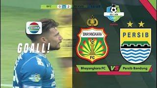 Gol Jonathan Bauman Bhayangkara FC 0 vs 2 Persib Bandung Go Jek Liga 1 bersama Bukalapak