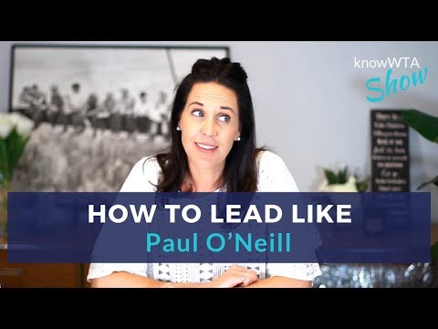 How to lead with health and safety like Paul O'Neill