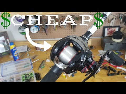 BEST Bass Fishing Rod/Reel Combo for UNDER $100