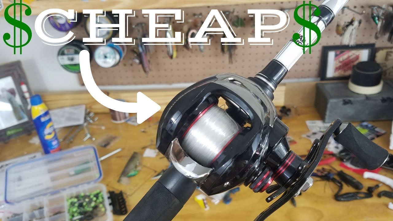 BEST Bass Fishing Rod/Reel Combo for UNDER $100!!! - YouTube
