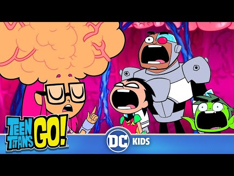 Teen Titans Go! | Starfire's Knowledge Attack | DC Kids
