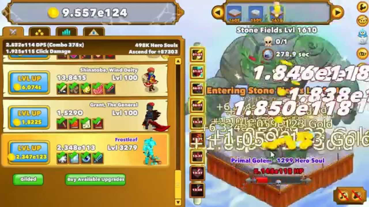 Clicker Heroes Tips Iris Strategy For Midlate Game Youtube