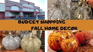 SHOP WITH ME FOR FALL ON SMALL BUDGET // BURLINGTON HAS THE BEST HOME DECOR // SHYVONNE MELANIE TV