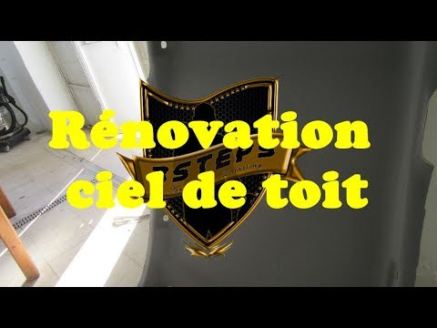 Headliner Restoration - Rénovation ciel de toit - تجديد السقف الداخلي للسيارة - RENAULT MEGANE