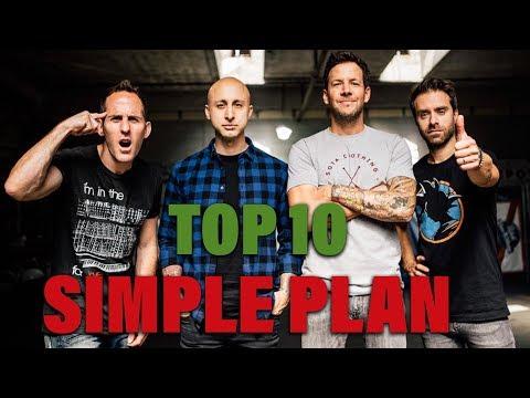 TOP 10 Songs - Simple Plan