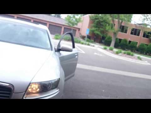 How To Program The Audi A6 2005 To Garage Door Youtube