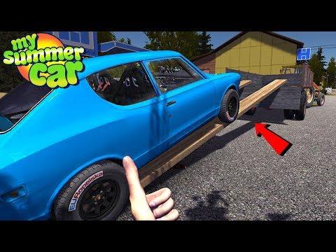 HOMEMADE CAR RAMP - My Summer Car