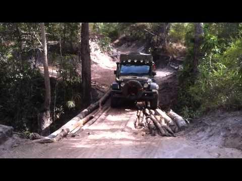 OTT Old Telegraph Track, Hunty's Jeep JK, Cape York.