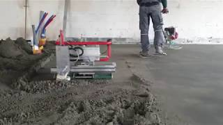 Clapa Floor Master Robot type 130 - automatic floor screeding