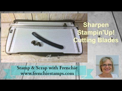 Sharpen Stampin'Up! Paper Trimmer Blades