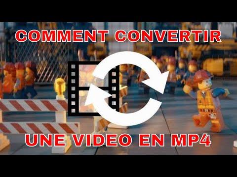 COMMENT CONVERTIR UNE VIDEO EN MP4 ? LOGICIEL GRATUIT