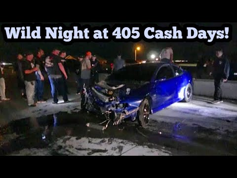 Wild Night At The 405 Covid Cash Days!