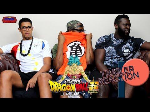 Dragon Ball Super Broly Movie Trailer Reaction