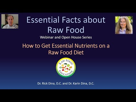 How to Get Essential Nutrients on a Raw Food Diet June 2018