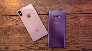 Galaxy Note 9 vs iPhone XS Max : 10 triệu chênh lệch liệu có đáng?