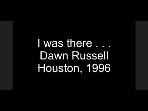 ADAPT 25 Years - 1996 – Houston – Dawn Russell Narrative
