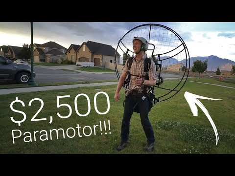 A $2,500 Paramotor - Flying On A Budget Pt. 1